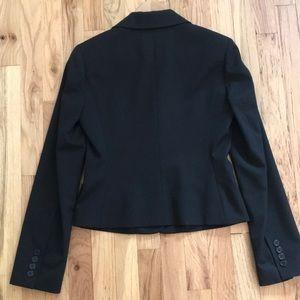 BCBGMaxAzria Jackets & Coats - BCBG Black fitted career blazer